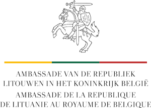Embassy of the Republic of Lithuania to the Kingdom of Belgium Logo