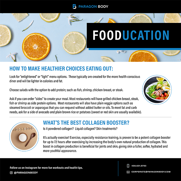 How To Make Healthier Choices When Eating Out