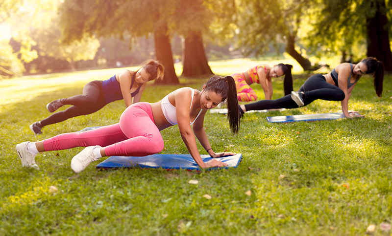 Get Your Sweat On: 5 Exercises in 4 Rounds