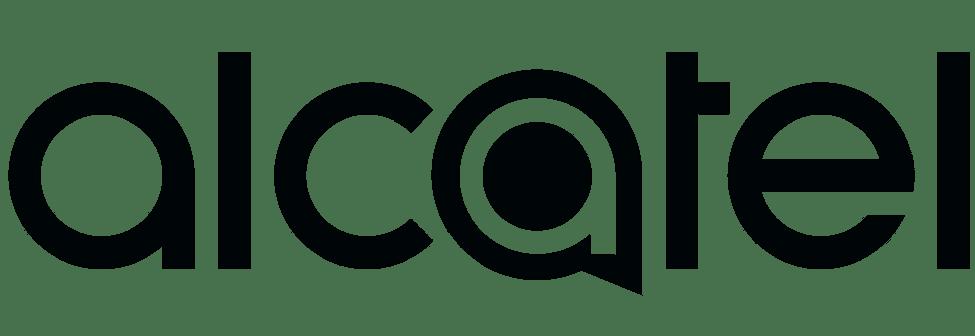 Logo noir alcatel
