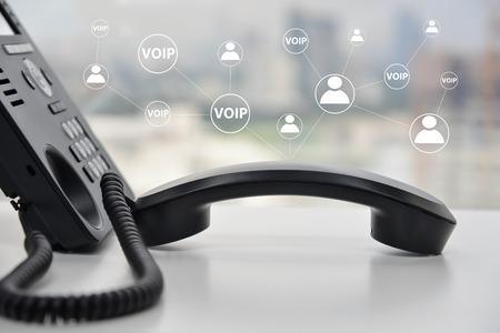 telephone fixe avec reseau voip