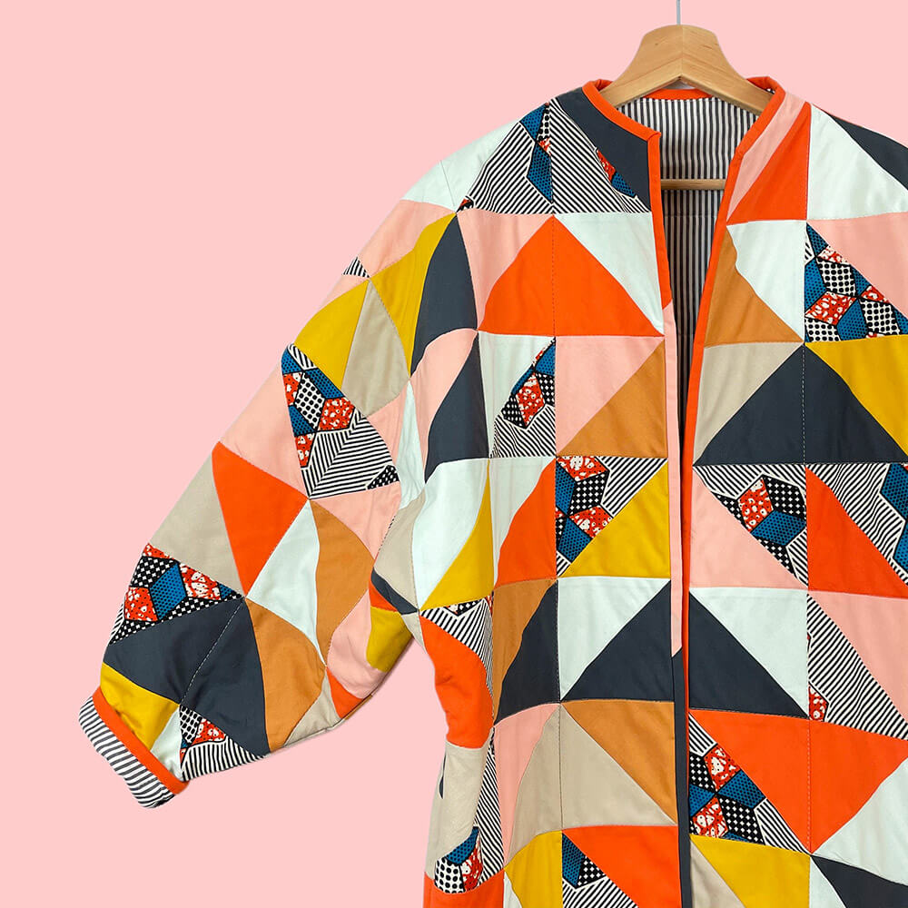A quilted coat