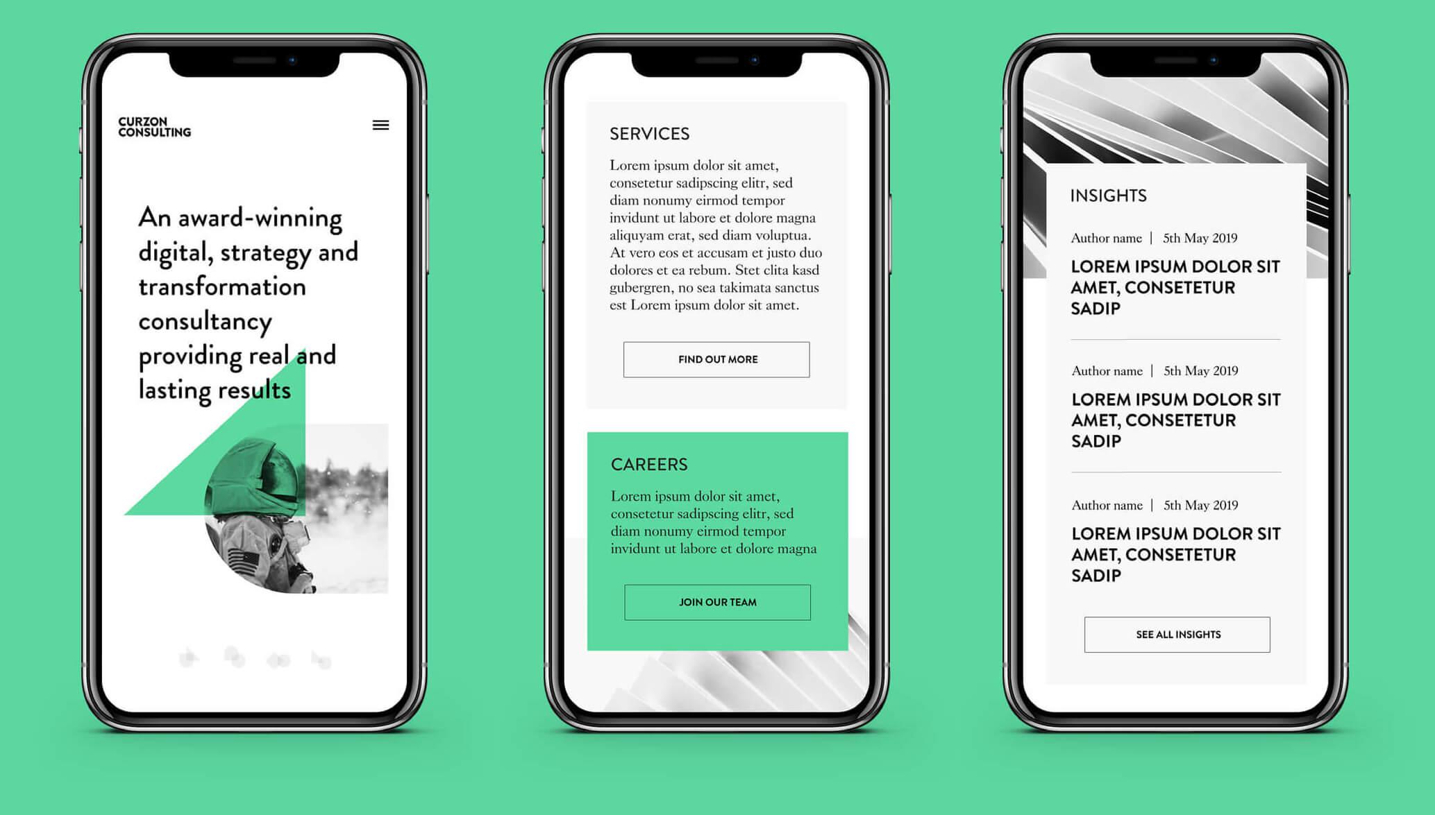 Mobile prototypes