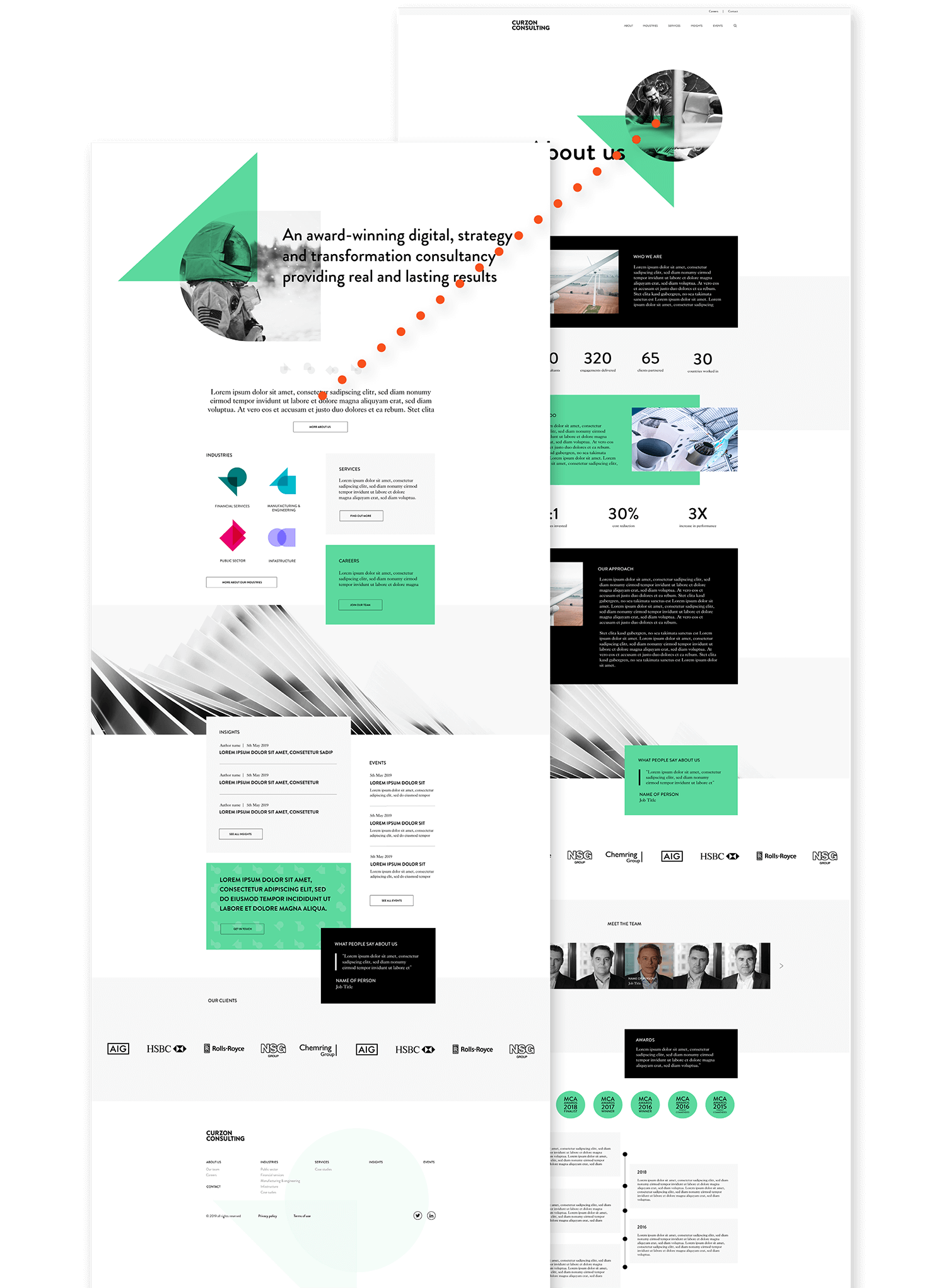 Website prototype