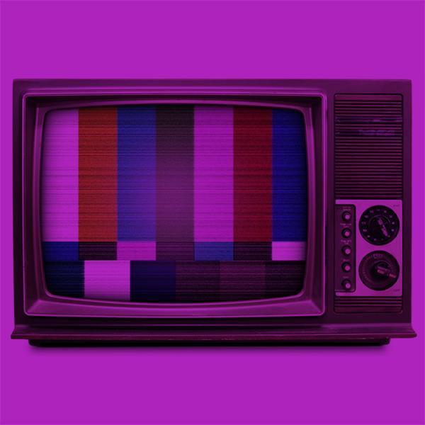 A retro television