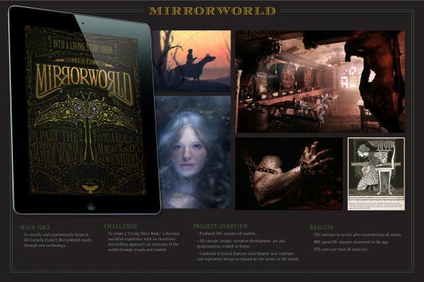 Mirrorworld app advertisement.