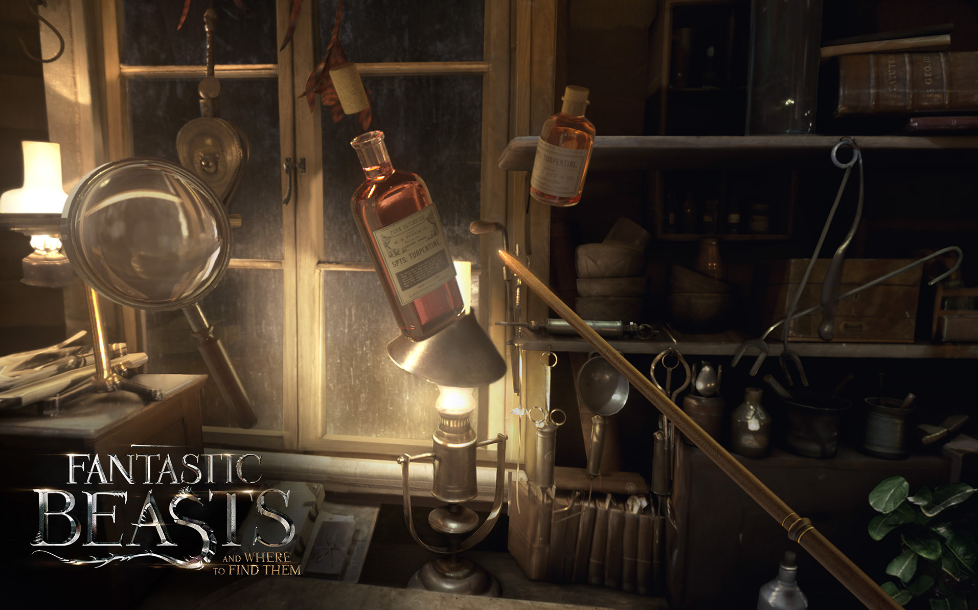 A snapshot of Fantastic Beasts VR experience.