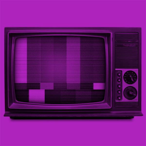 A retro TV
