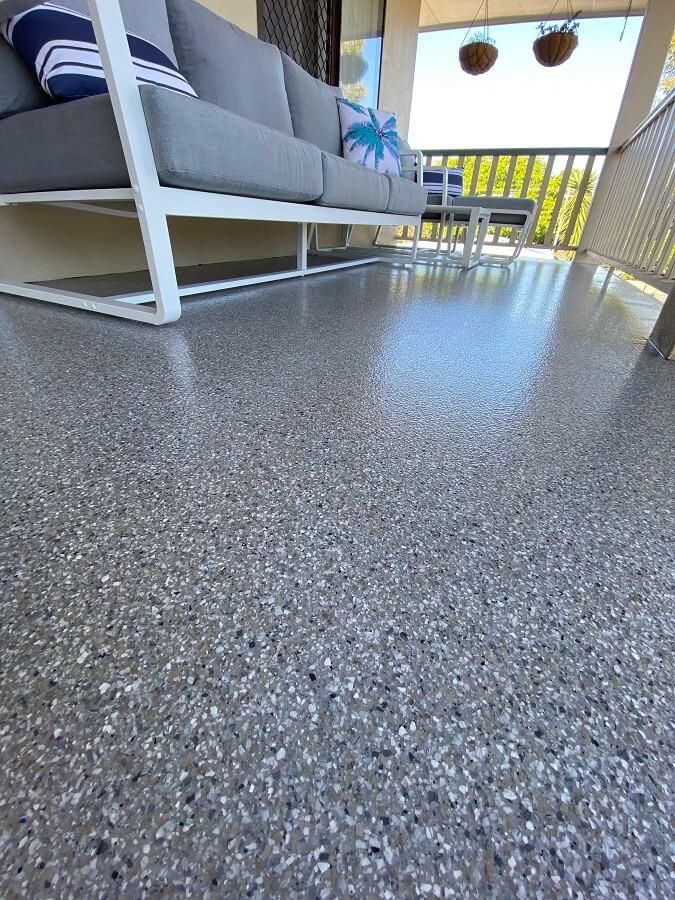 Epoxy Ultra Flake Flooring Brisbane