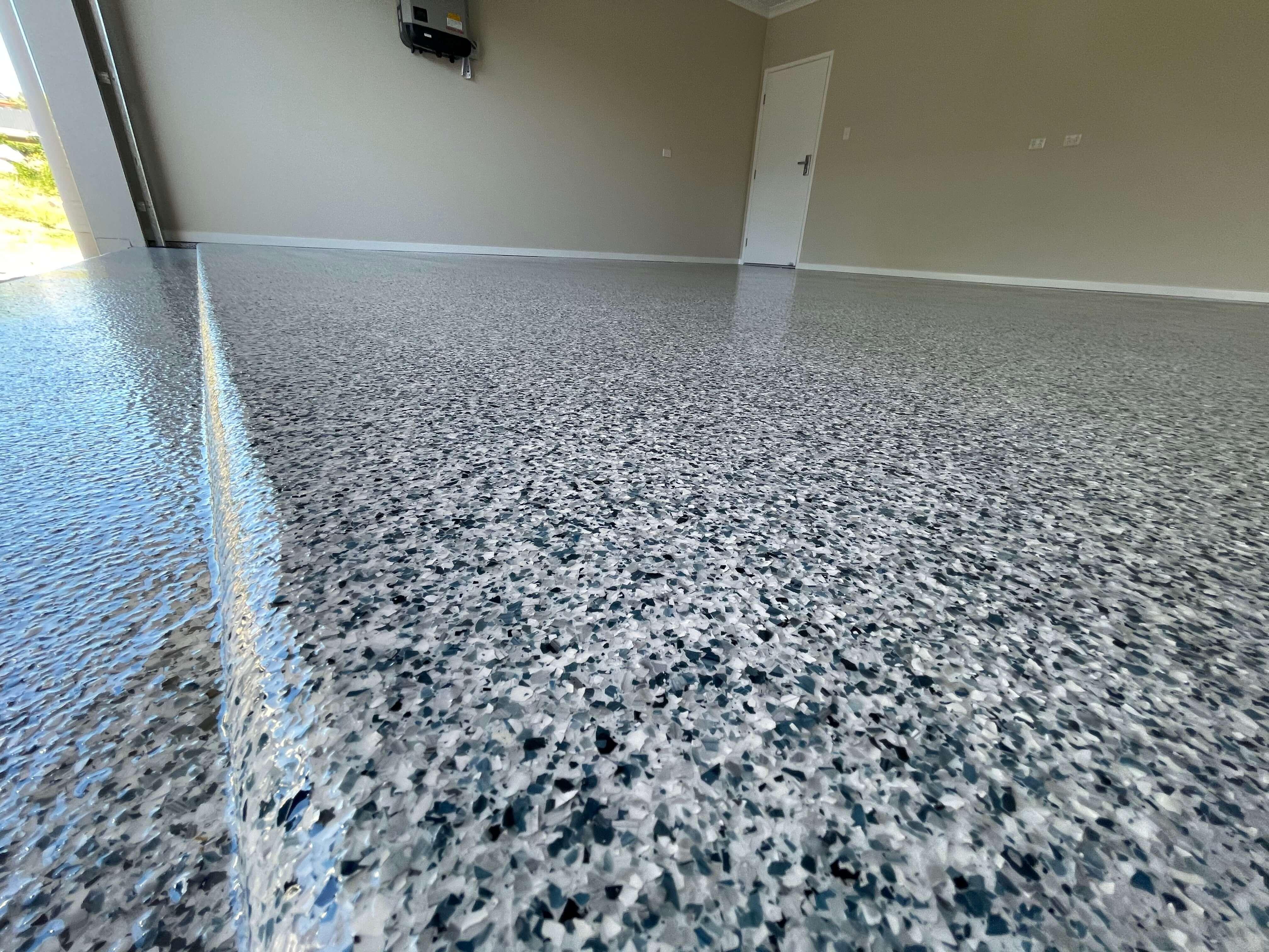 Epoxy Flake Flooring Brisbane