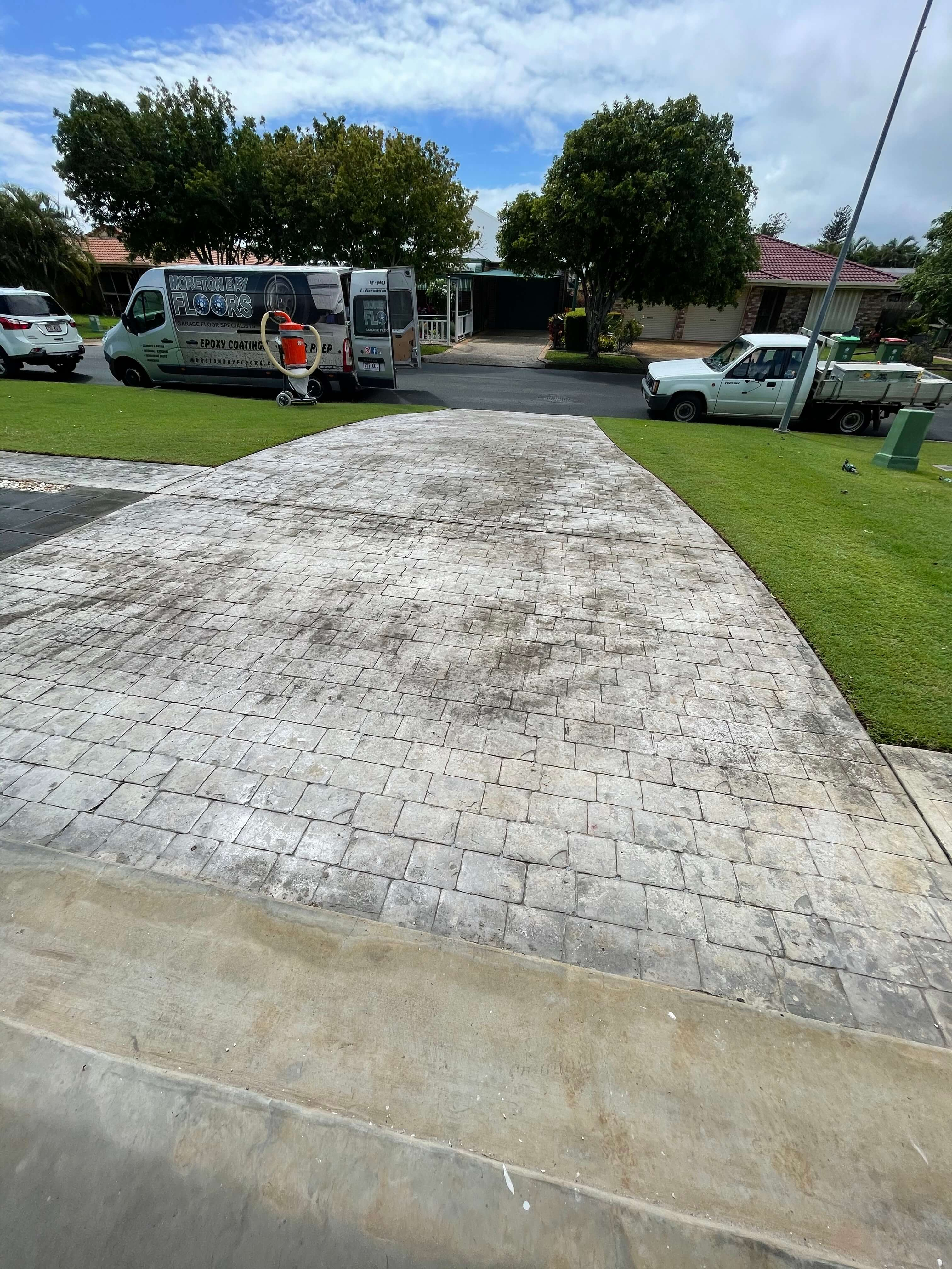 Driveway Coating Grinding and Removal Brisbane