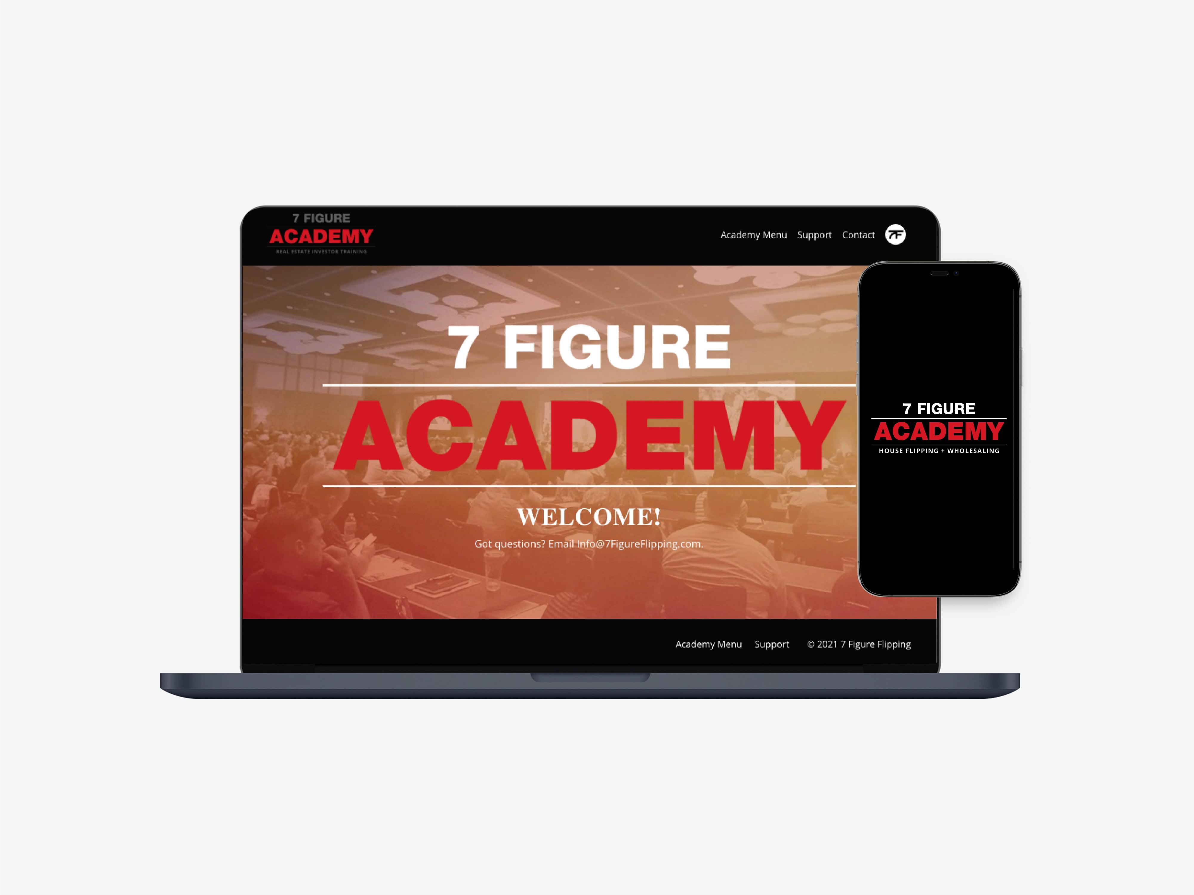 7 Figure Academy Image