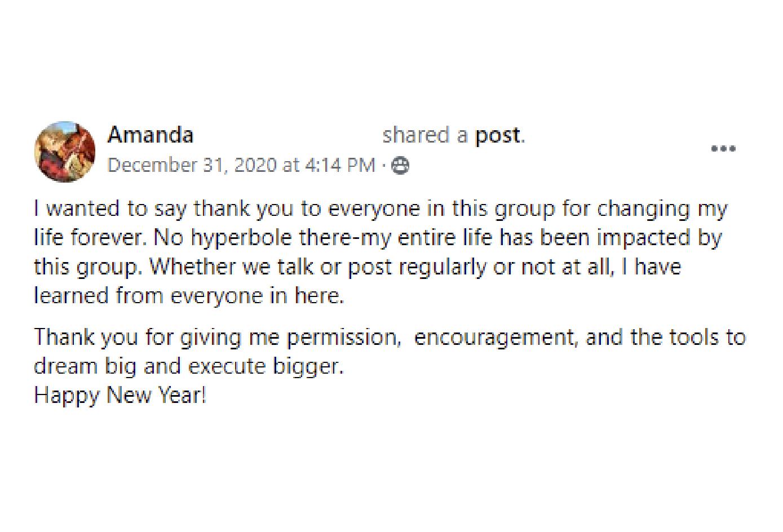 Testimonials Facebook Review