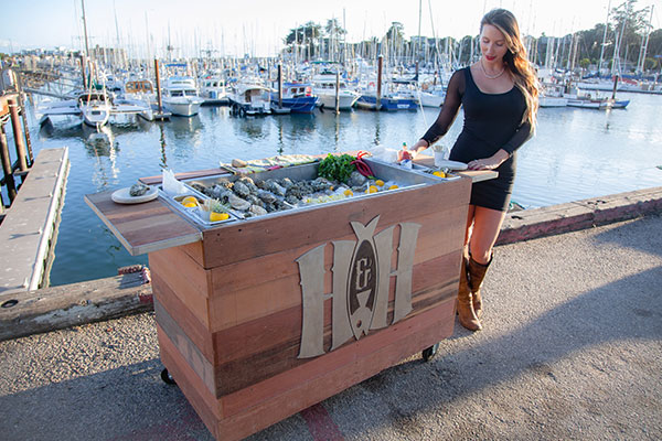Shucked Mobile Catering bar