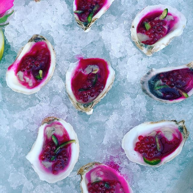 Oysters with