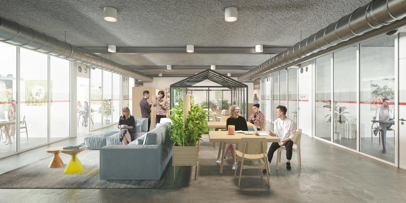 VobeSoft office lounge