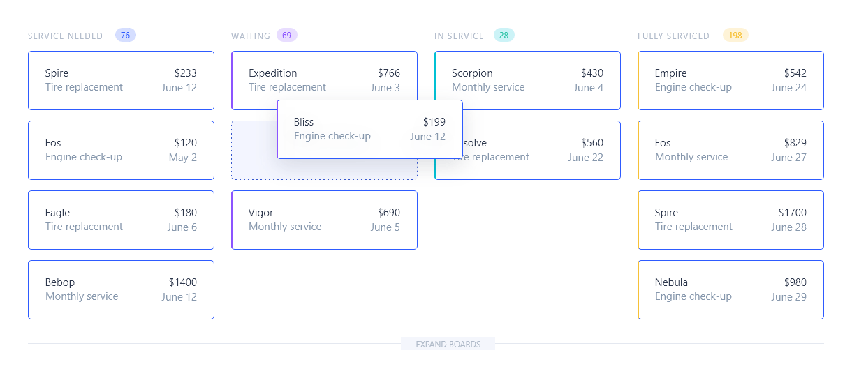 VobeSoft platform pipeflow page
