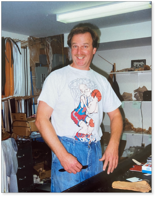 Ralph's early days working in the basement