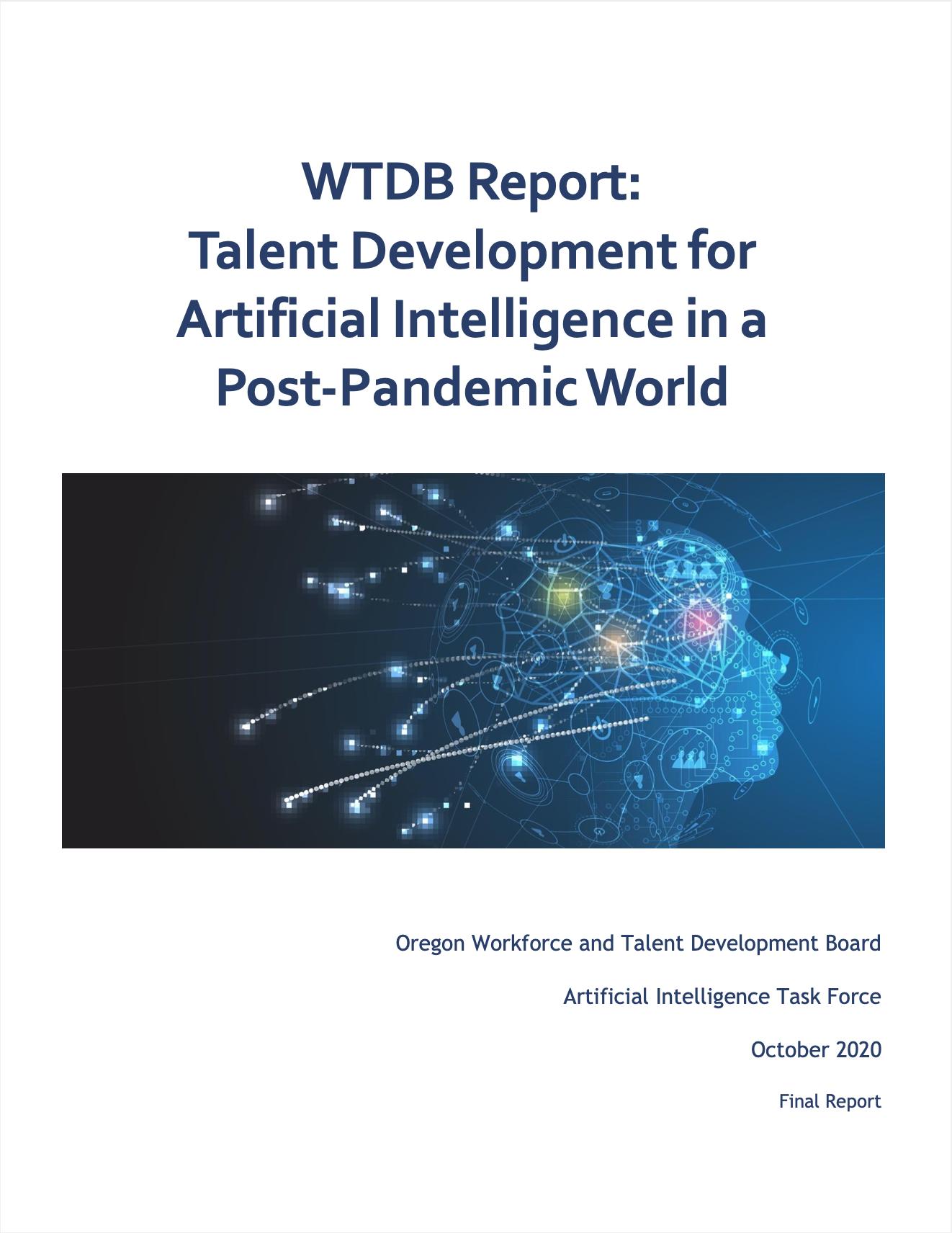 Sonder Oregon WTDB Talent Report
