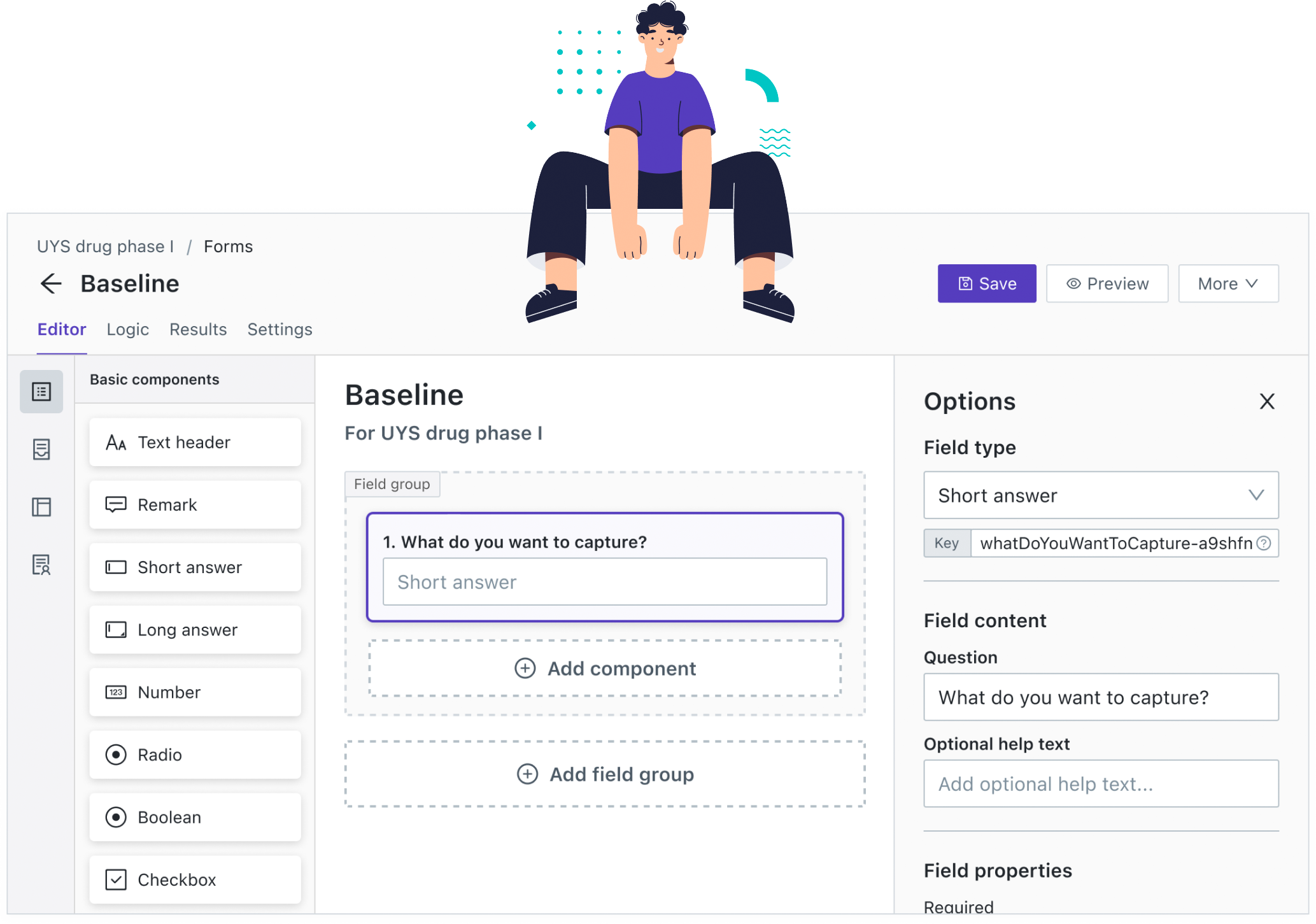 Create beautiful forms without having to code