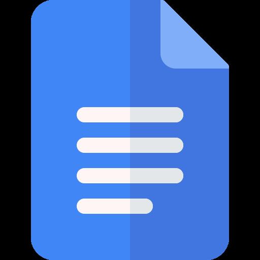 Google Docs Document Icon