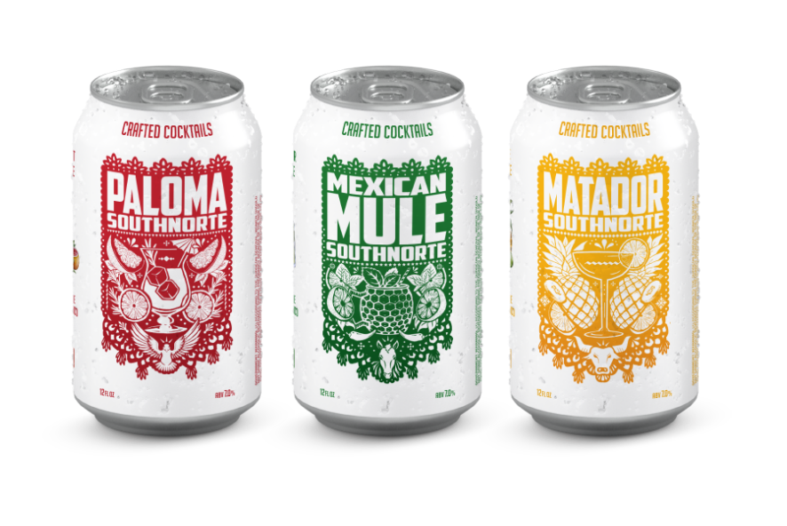 Canned Cocktail Family: Paloma, Mexican Mule, Matador