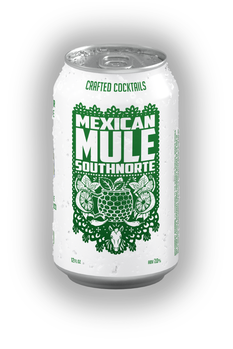 Can of Mexican Mule canned cocktail.
