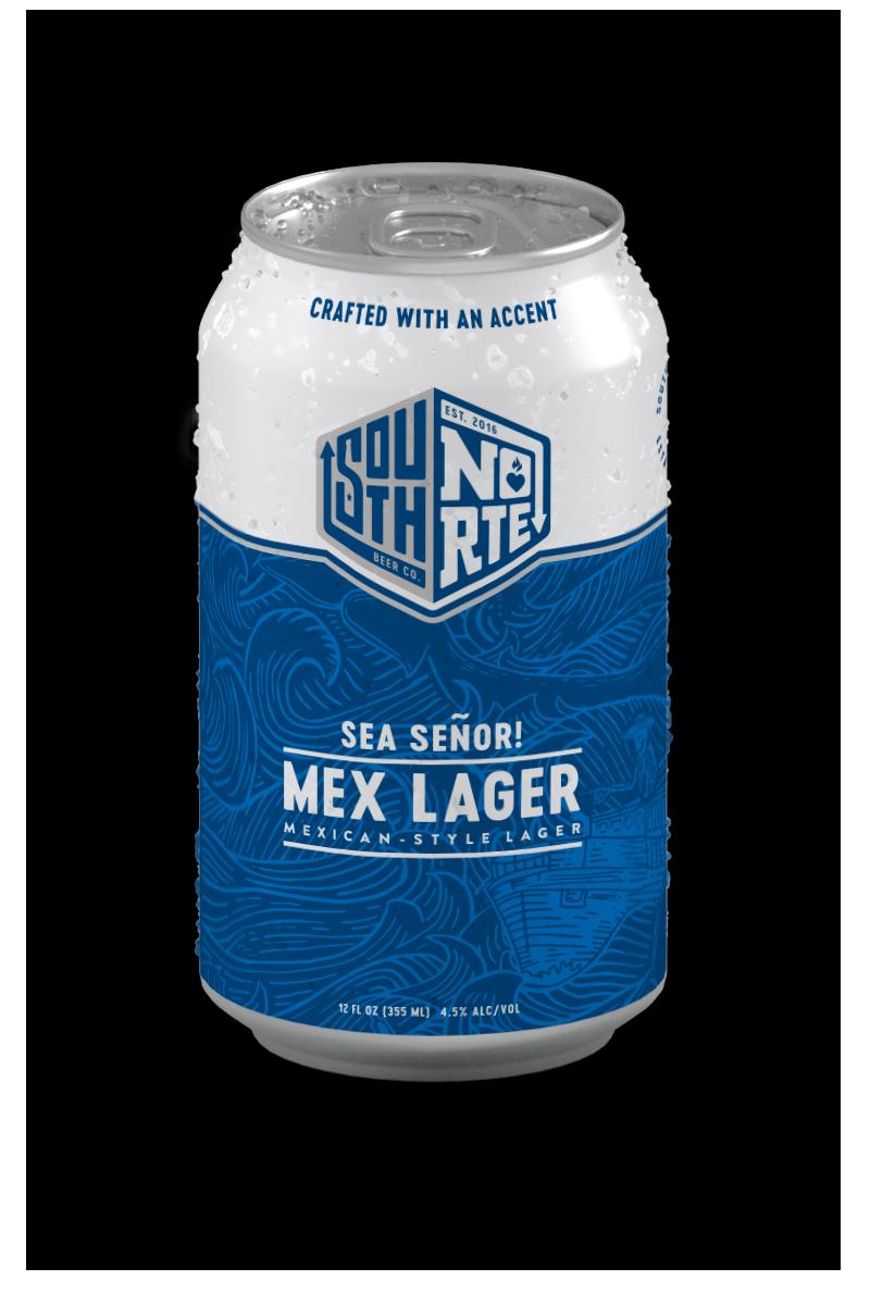 Can of Sea Señor beer