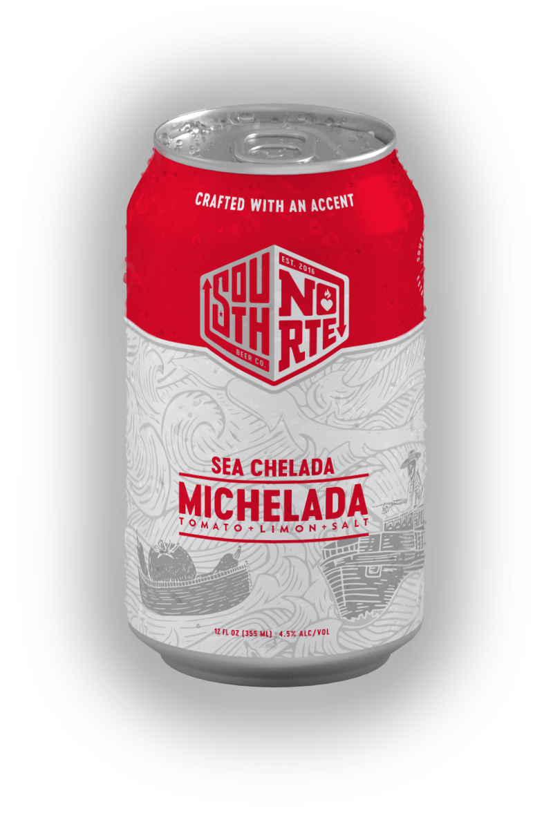 Can of Sea Chelada beer