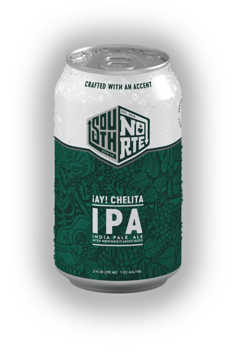 Can of Ay Chelita beer