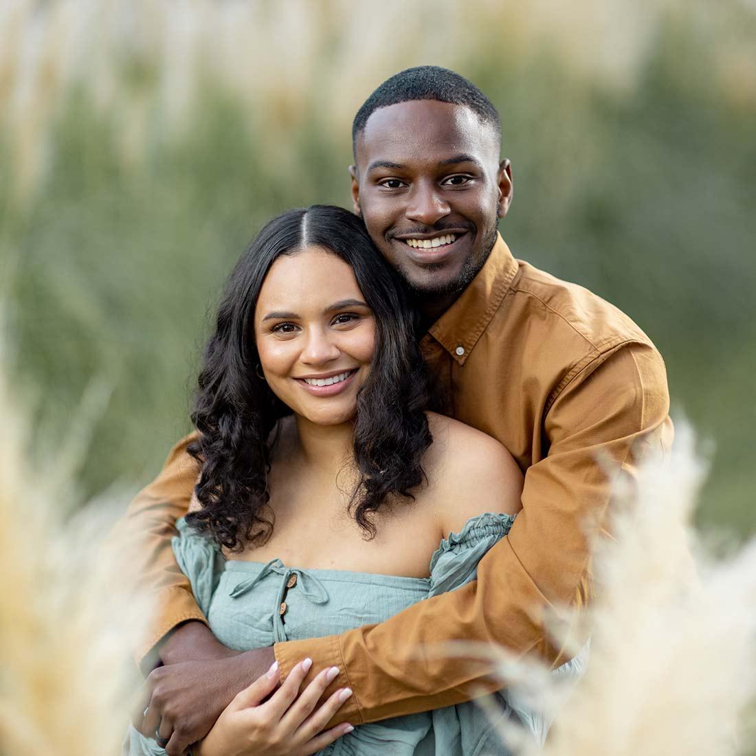 Kaelin and Kyrah Edwards family photo
