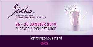 Sirha 2019 stand Cashpad