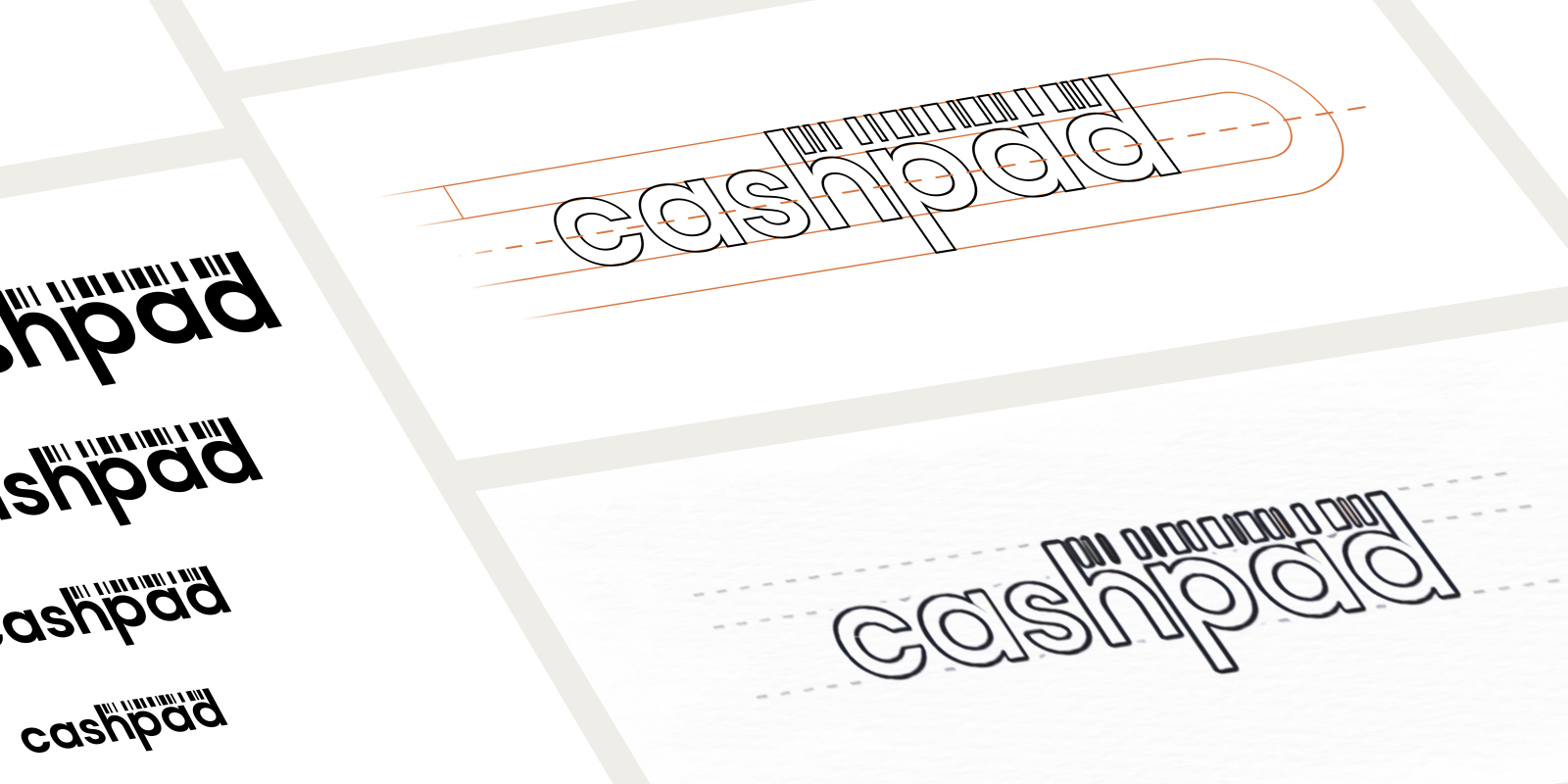 Cashpad Logo Design Process
