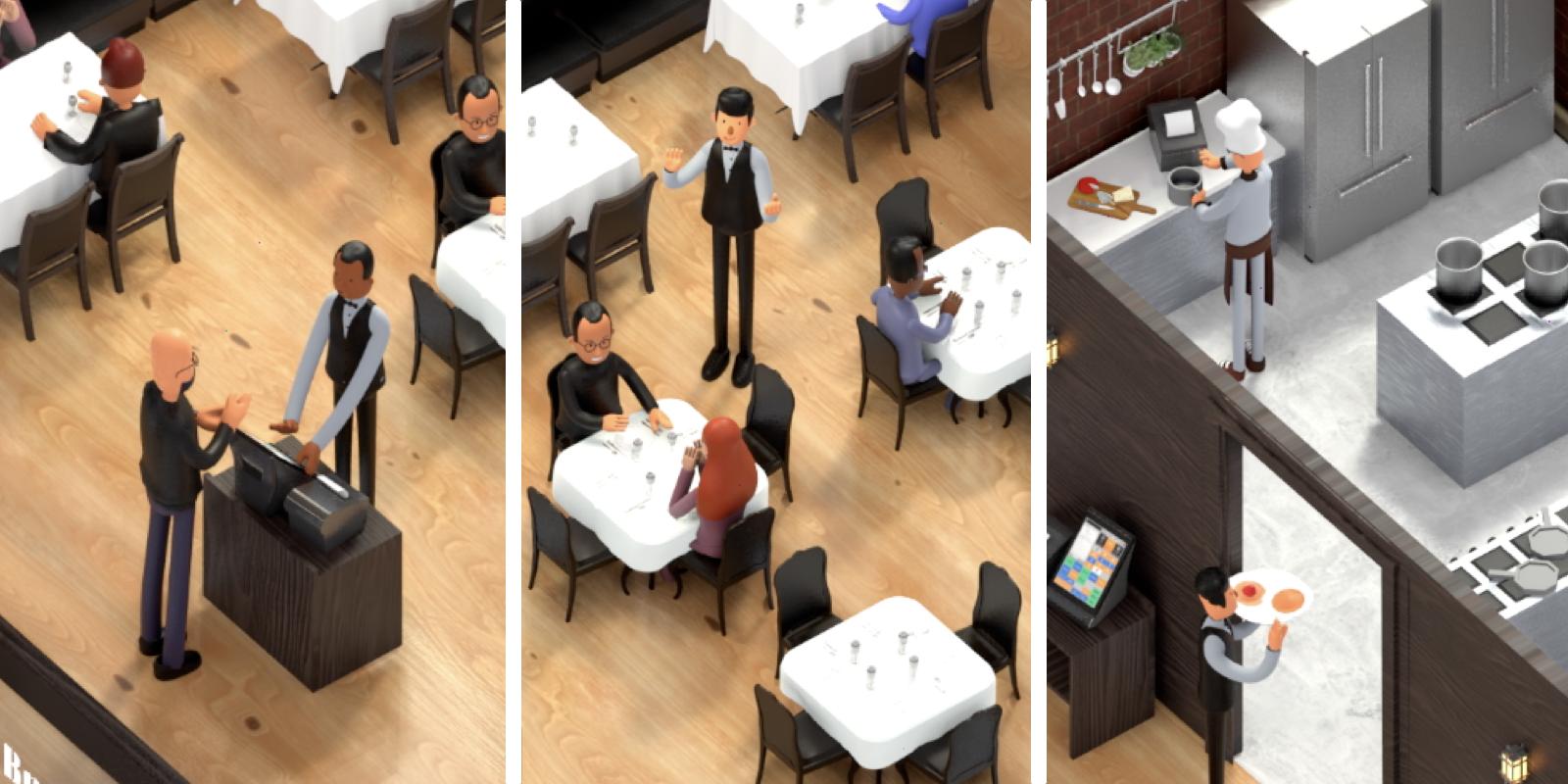 Restaurant vue par Cashpad
