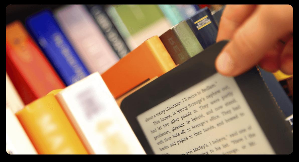 Digitális könyvtár a Café Englishben