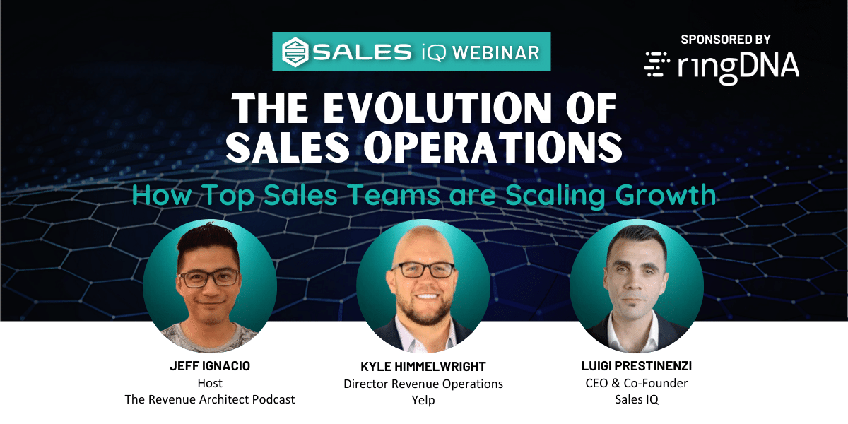 The Evolution of Sales Operations