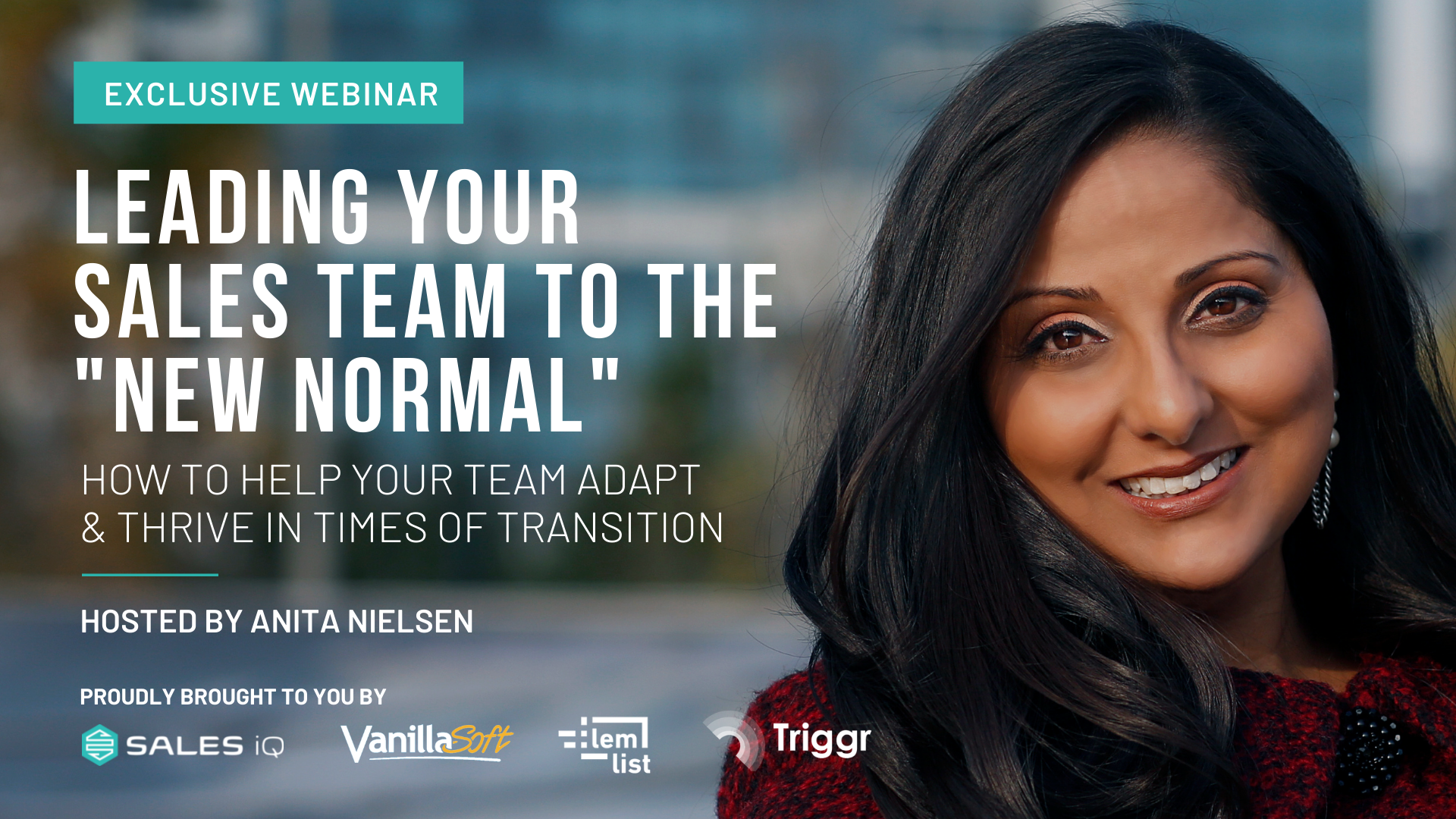 Leading your Sales Team in the New Normal