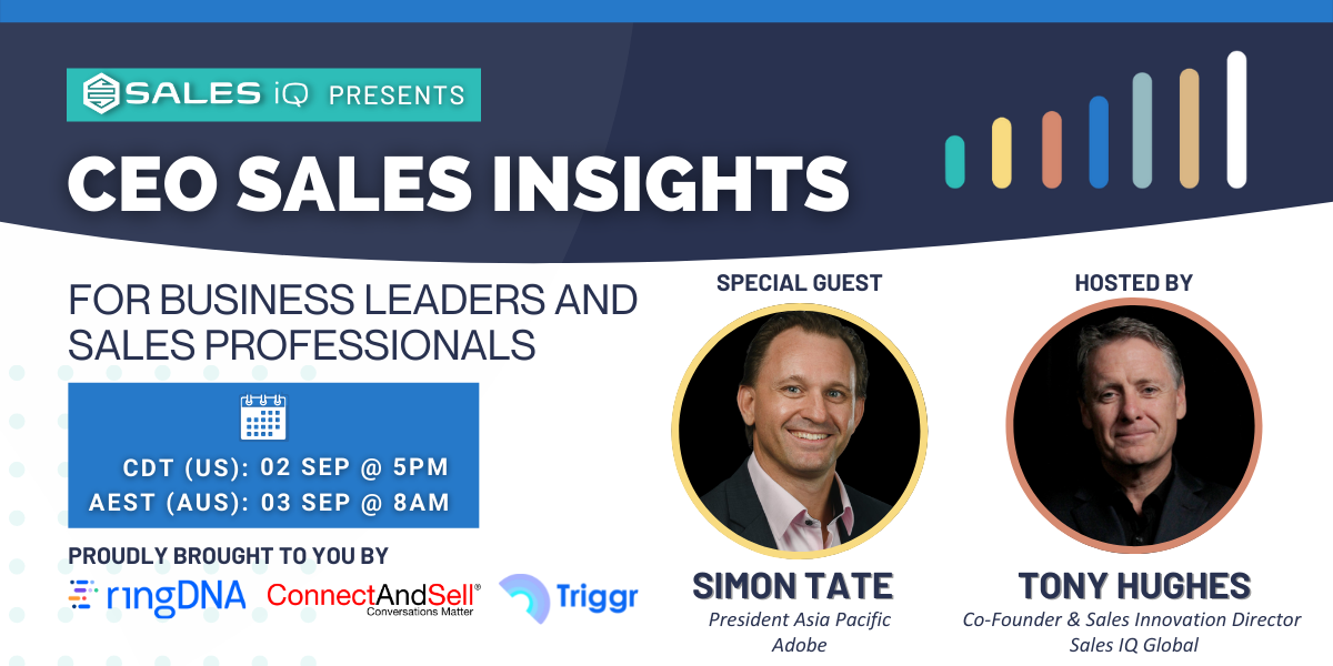 CEO Sales Insights with Simon Tate