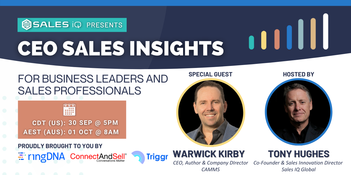 CEO Sales Insights with Warwick Kirby