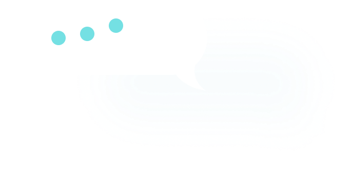 A chat bubble image