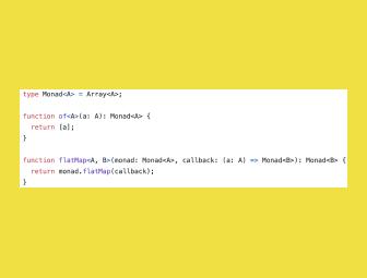Monads simplified with Generators in TypeScript: Part 1
