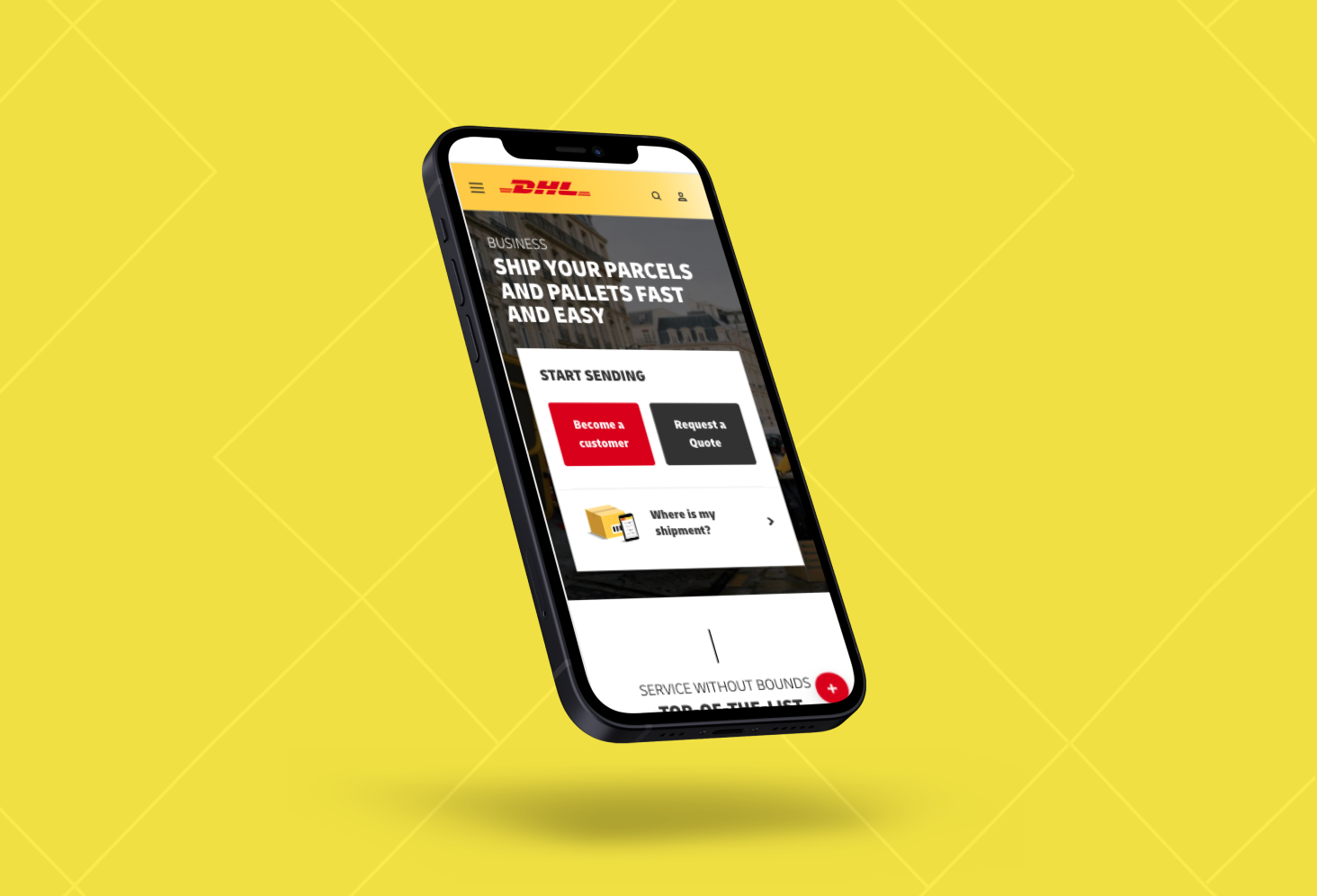 DHL – apps for internal use