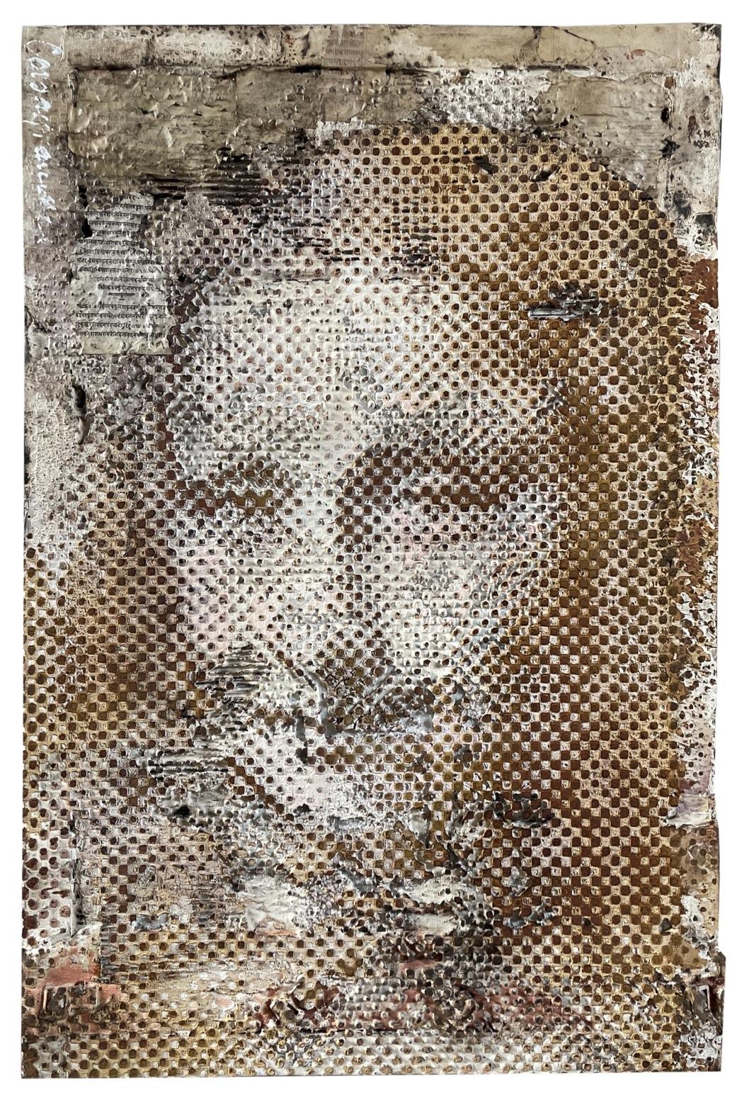 Brown Mona Lisa | 2021, 120x80cm