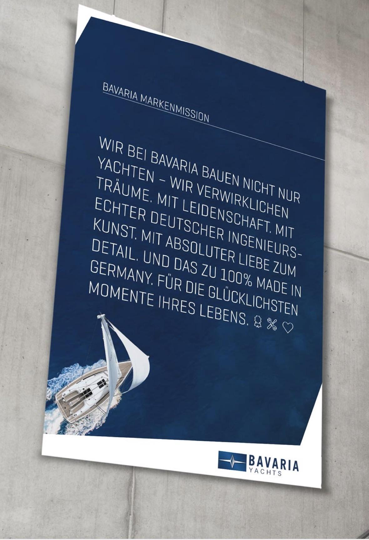 Bavaria Yachts – Markenmission (Mission Statement)