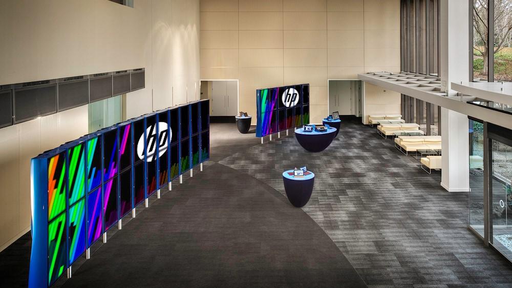 HP Global HQ Lobby