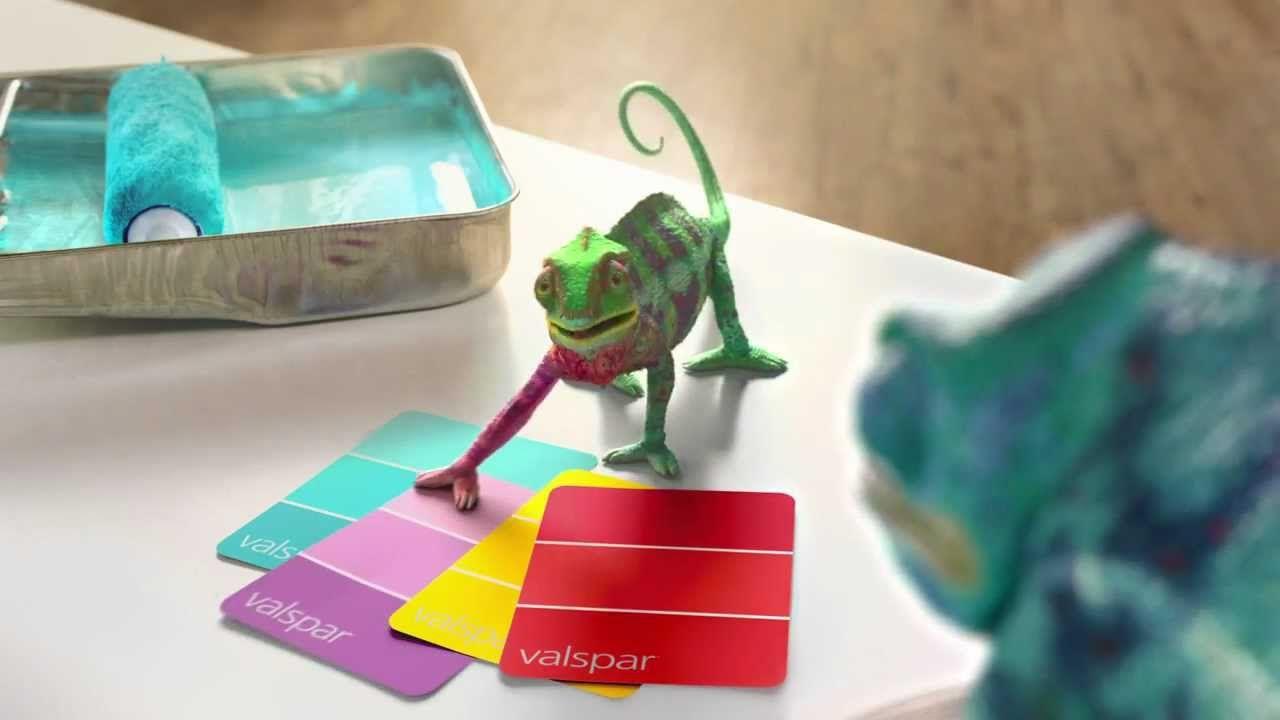 Image result for valspar ad chameleons