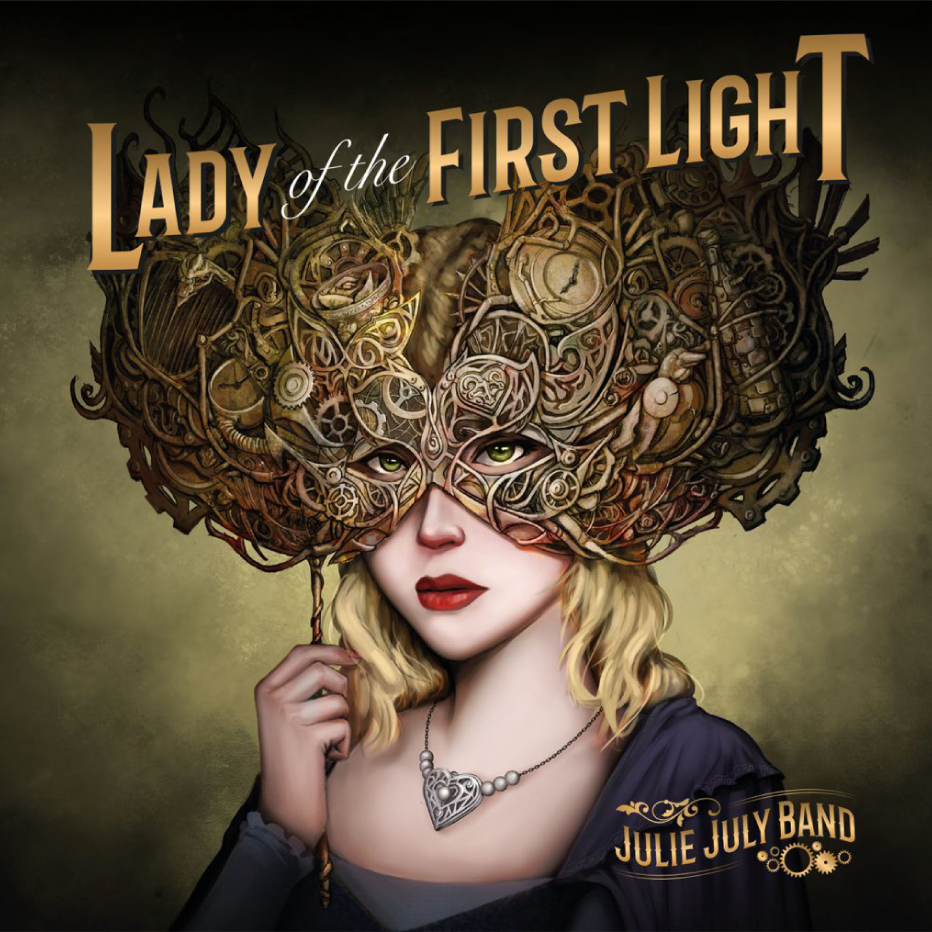 Julie July - Lady of the First Light Album Cover