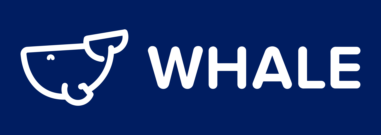 Logo Whale - Dark Background