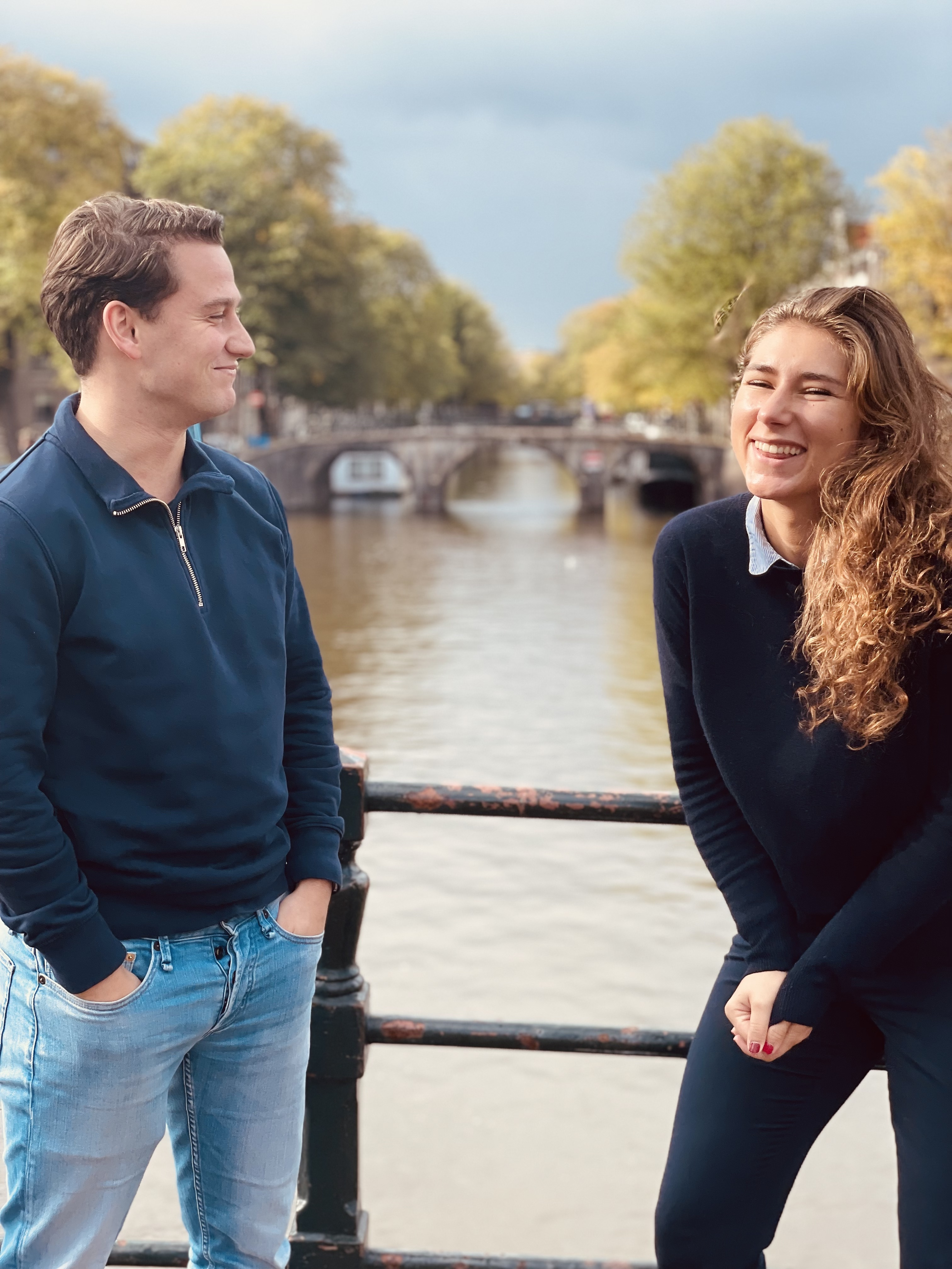 Meet Louisa and Tom: teaming up with us as interns