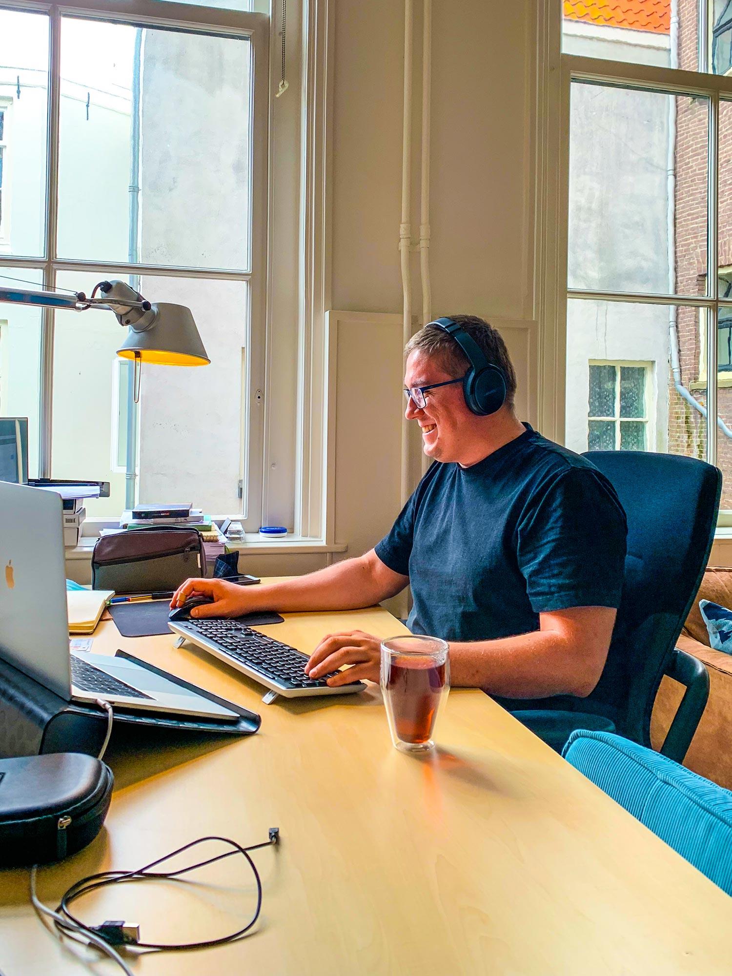 Portrait of a team member of Venture IQ